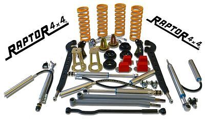 "Raptor 4x4 'Devil' Full Suspension Lift Kit +3"" Land Rover Defender 110/130"
