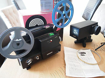 Optex VS612 Cinerex 818  cine Film Projector Telecine Video Transfer Dual 8, 8MM
