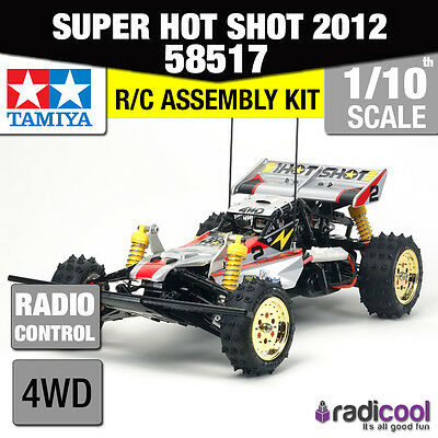58517 TAMIYA SUPER HOT SHOT 2012 1/10th R/C KIT RADIO CONTROL 1/10 BUGGY NEW!