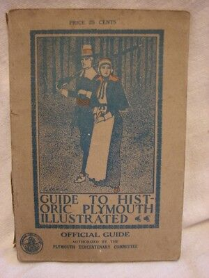 1921 Guide to Historic Plymouth Massachusetts