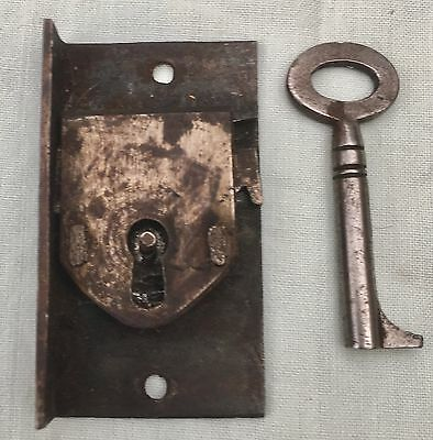 A Very Good Antique Grandfather/ Longcase Clock Lock And Key