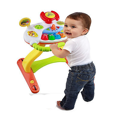 2 in 1 Baby Walker Activity Toy Musical Piano & Car Lights & Sounds 12m+ 21022