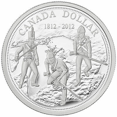 2012 Canada Proof Silver Dollar - 200th Anniversary of the War of 1812