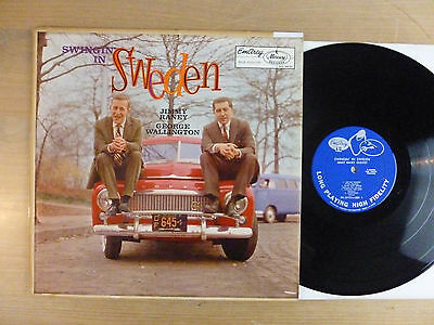 Jimmy Raney & George Wallington - Swingin' In Sweden, USA 1958, MONO, Vinyl: vg+