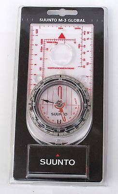 SUUNTO M-3 Global Map Compass. Army Hiking Survival Mountaineering