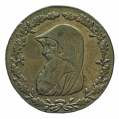 Wales Anglesey Druids Head One Penny Token 1790