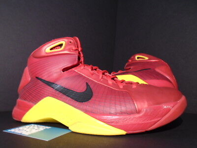 reputable site ffe52 35052 2008 Nike HYPERDUNK CHINA OLYMPIC SPORT RED BLACK MAIZE YELLOW 324820-602  11.5