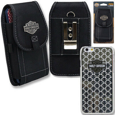 Harley Davidson Iphone 6s Le Fleur Cover Nylon Riding Case And