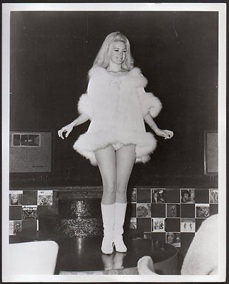 Toodie Twill BURLESQUE STRIPPER sexy leggy VINTAGE ORIG PHOTO 8x10