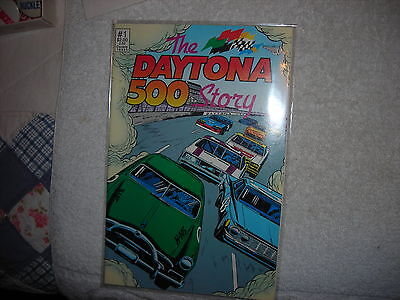 1991 Daytona 500 Story Special  #1 Nascar,racing Comic In Mint Condition Comics
