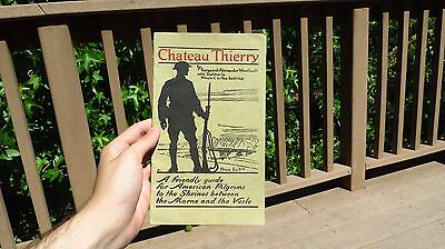 WW1 US MILITARY ARMY Chateau Thierry Reference Guide Book Alexander Woollcott