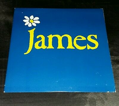 James - How Was It For You? - 1990 Uk 7""