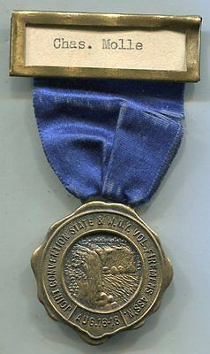1928 New York State Firemen's Assoc. Convention Member Medal