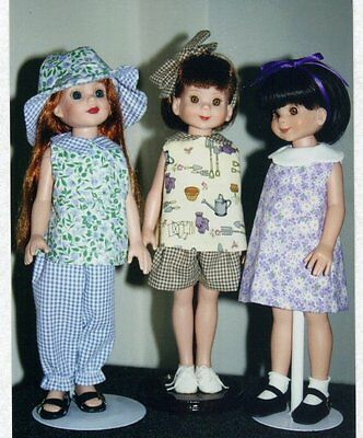 """Dress Hat shorts top PATTERN fits 13 - 14"""" Betsy Mccall, Kish Little darling"""