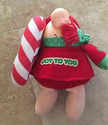 """American greeting Cards  ZIGGY Plush -Joy To You, 1987 Christmas Collectible 8"""""""