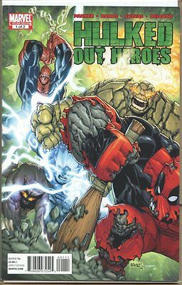 Hulked out Heroes 2010 series # 1 very good comic book