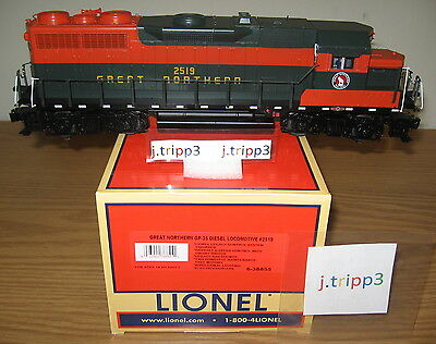 Lionel #38855 Great Northern Legacy O Scale Gp-35 Diesel Engine Locomotive Train