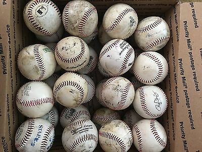 16 Used Synthetic SOFTIE  T-BALL Baseballs FREE SHIPPING--