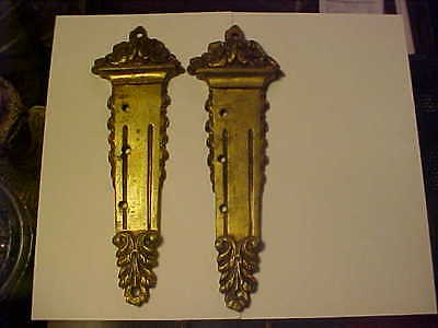 SET of 2 PRETTY VINTAGE HARDWARE PIECES
