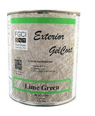Lime Green Ext. Gelcoat 1 QT