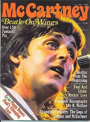 PAUL McCARTNEY  Beatle On Wings  rare book from 1976  THE BEATLES