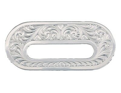Montana Silversmiths Saddle & Accent Trim Rigging Plates Silver RP2