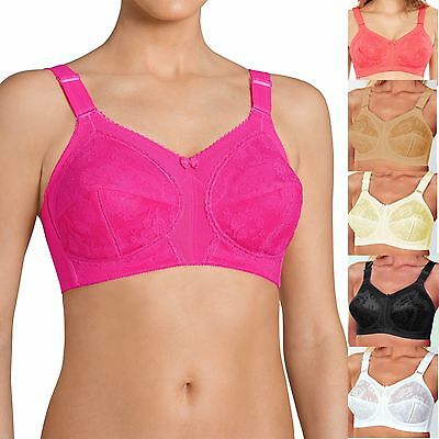 Triumph Doreen Bra Classic Lace Non Wired Soft Cup Full Cup Coverage B to K Cup