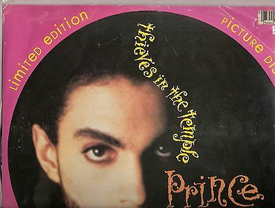 """Prince – Thieves in the Temple - 12"""" PICTURE DISC"""
