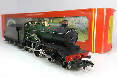 Hornby R392 Oo Gauge Gwr County Class 4-4-0 3821 County Of Bedford Exc Boxed