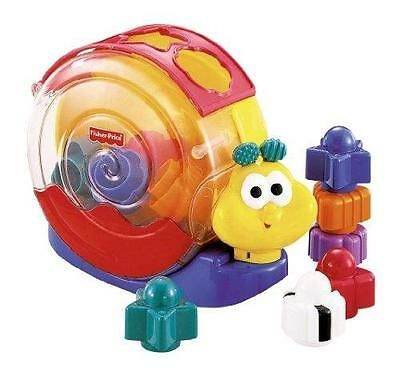 Fisher Price - 71922 - Jouet Premier Âge -  Escargot Mu