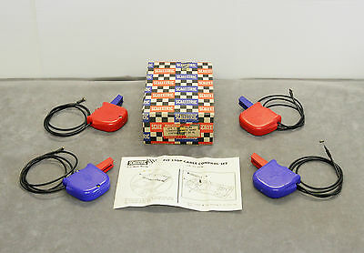 ULTRA RARE! Scalextric PT96 Pit Stop Cable Turnout Remote Hand Controls - BOXED!