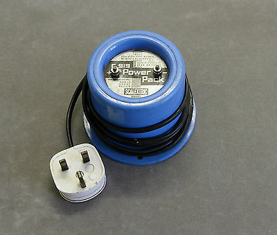 Vintage SCALEXTRIC C919 12V (18VA) Power Pack Transformer Blue - Tested Working