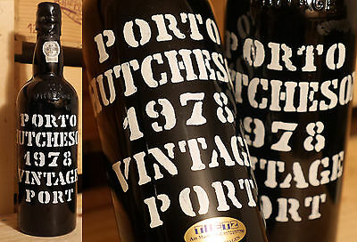 1978er Vintage Port - Hutcheson - Top Zustand - lecker *****