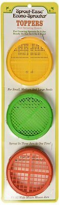 Sprout-Ease Econo-Sprouter Toppers Set 3 Piece(S) New