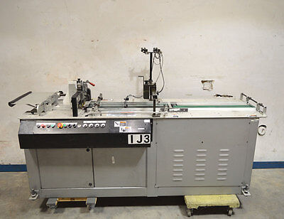 "Kirk-Rudy 215VS-36 Ink Jet Base Dual Motor w/36"" Ext. Labeler Shuffle Feed Mail"