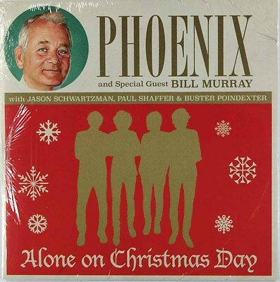 """Phoenix with Bill Murray - Alone On Christmas Day (Vinyl 7"""") New & Sealed"""
