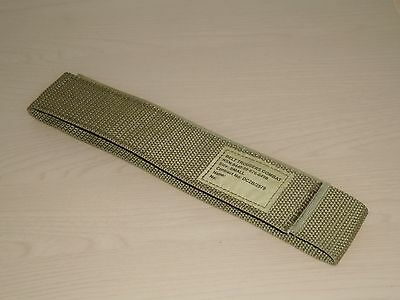 British Army Light-Olive Combat Trouser Belt. Small Size. New. Velcro-Closure.