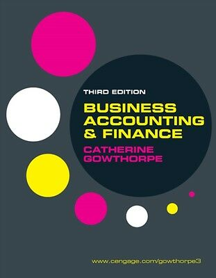 Business Accounting and Finance (Paperback), Gowthorpe, Catherine, 9781408018378
