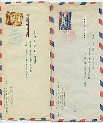 LATIN AMERICA--Lot of 18 Commercial Covers from Various Countries