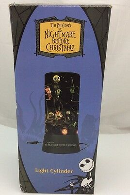Tim Burtons The Nightmare Before Christmas Light Cylinder Neca New