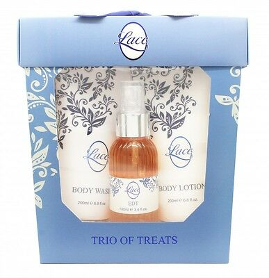 Taylor Of London Lace Gift Set 100Ml Edt + 200Ml Body Lotion + 200Ml Body Wash