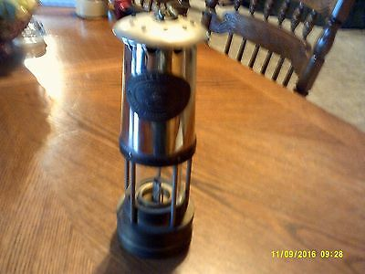 E. Thomas & Williams Makers Aberdare Wales Brass Mining Lamp Miners Lantern
