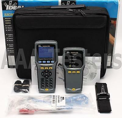 IDEAL SignalTek Gigabit Ethernet Cable Qualification Tester Signal Tek