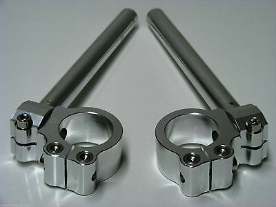 CNC ADJUSTABLE CLIP ON CLIP ONS HANDLEBARS 36mm 37mm 38mm 39mm 41mm 43mm  SIZES