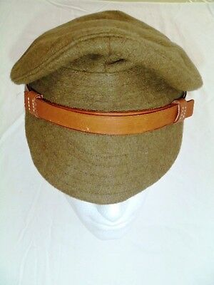 reproduction WW1 British Trench Cap with original buttons