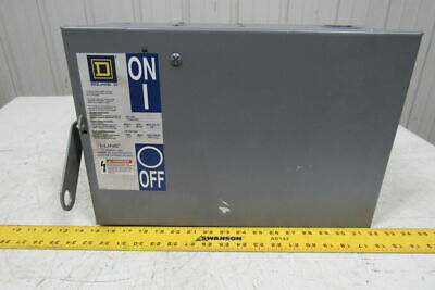 Square D PQ-3610GYU I-Line Busway Fusible Disconnect Plug-In Unit 100A 600V 3P
