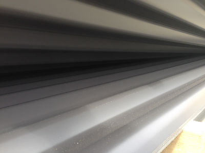 Clearance Colorbond Monument Corrugated 6120mm Roofing Sheets 1183