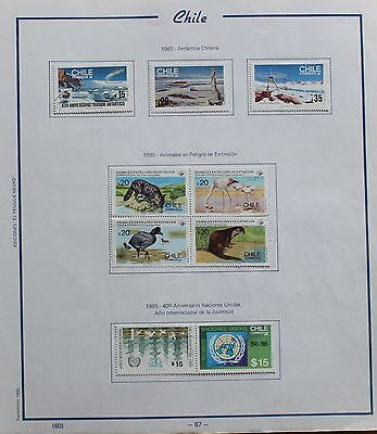 Chile lot of Stamps ref. 087