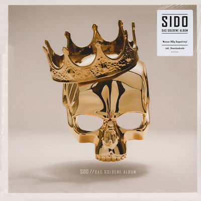 Sido - Das Goldene Album White Vinyl Edition (2LP - 2016 - DE - Original)