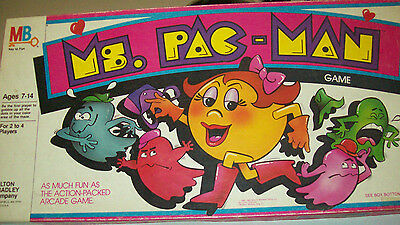 Ms. Pac-Man Board Game, complete with original box